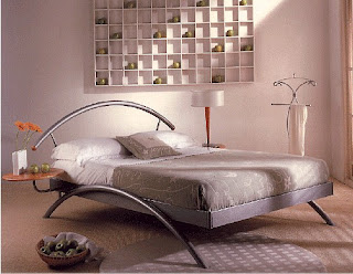 unique bed for modern and artistic bedroom