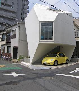 minimalist corner home design