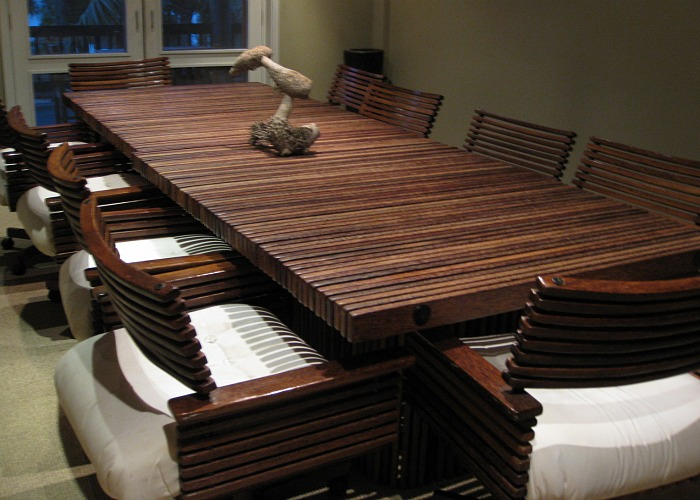 Palm Coconut Wood Furniture Interior Design - Palm-tree-furniture-from-pacific-green