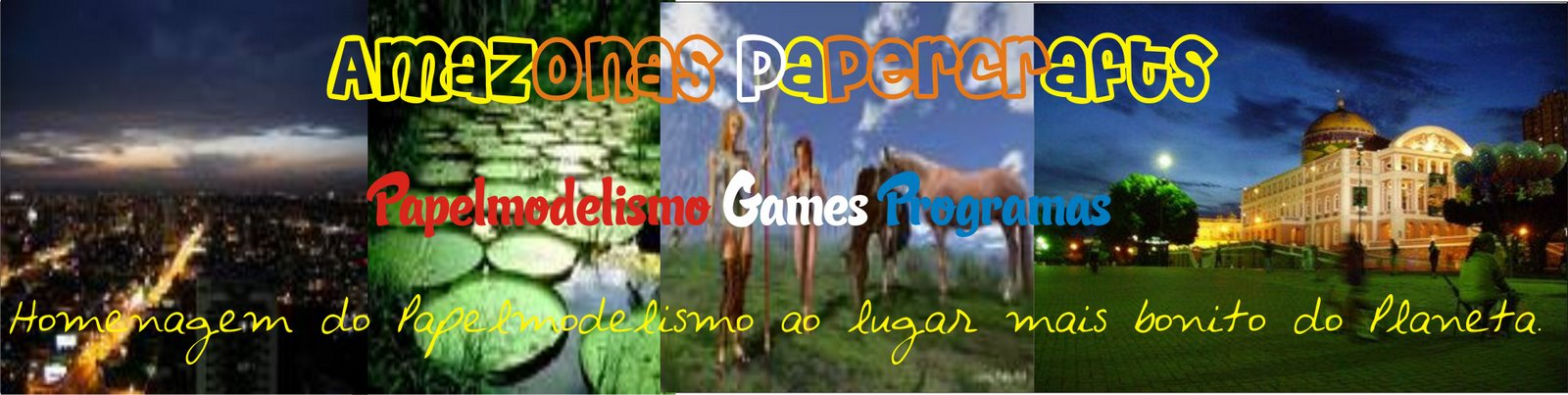Amazonas Papercrafts