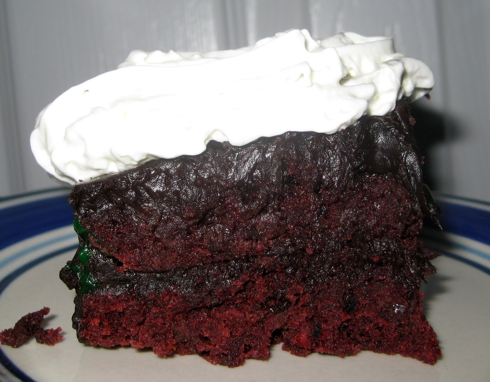 21st Century Urban Pioneers: Chocolate Chip Red Velvet Cake