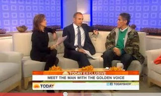 Image of Ted Williams Interview on Today Show