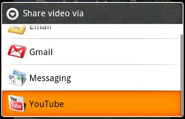 upload video youtube google-android besplatno