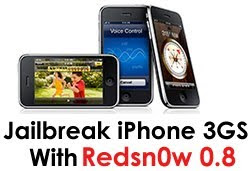 Besplatni download Redsnow 0.8 za Windows, Mac i Linux iPhone 3GS 3.0 jailbreak