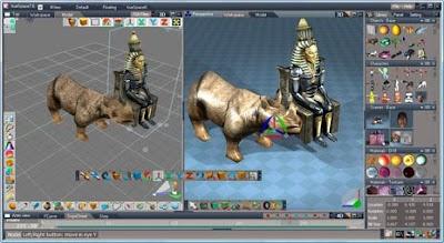 trueSpace 3D igre simulacije