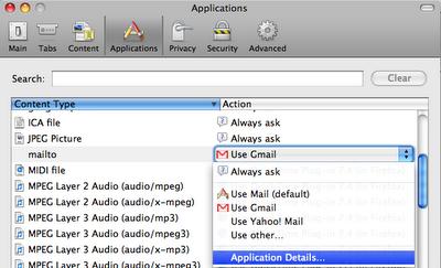 Namjestite Gmail kao defaultni e-mail klijent u Firefoxu 3