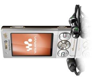 Sony Ericsson W705 novi mobitel walkman serije, Bluetooth zvučnici
