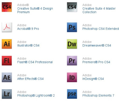 Photoshop CS4 Dreamweaver CS4 Illustrator CS4 Premiere Pro CS4 download besplatno