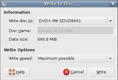 ISO datoteka u Ubuntu Linux