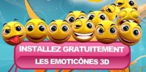 Windows Live Messenger 3D Emoticons Pack besplatni smajlići download