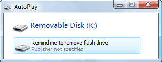 Download Flash Drive Reminder - besplatni programi