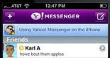 Download besplatno Yahoo Messenger za iPhone i iPod sa iTunes