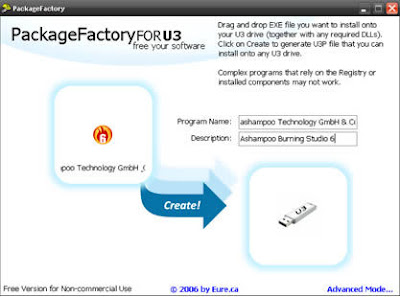 Download PackageFactory FOR U3 besplatni programi freeware