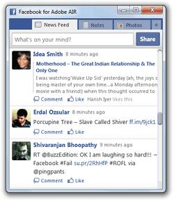 Download besplatni Adobe desktop klijent - Facebook for AIR