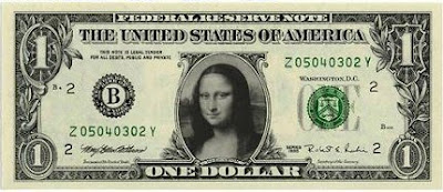 Festisite Personalized Money Generator -slike- US Dollars - Mona Lisa