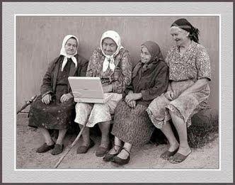 smiješne slike bakice laptop