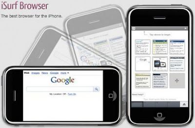 Download besplatni web preglednik za iPhone - iSurf Browser