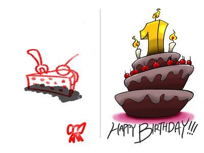 Happy Birthday, e-card čestitka za rodjendan