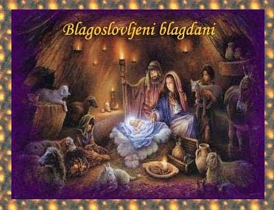 Božićne slike besplatne čestitke jaslice Isus Krist download free e-cards Christmas