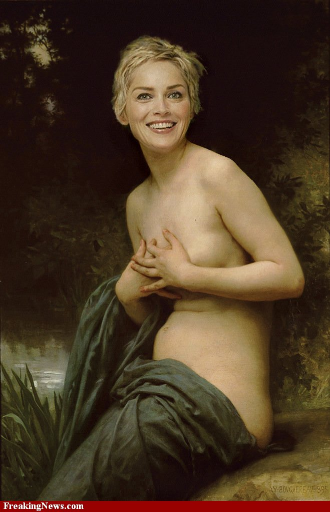 Nude sharon stone pussy for