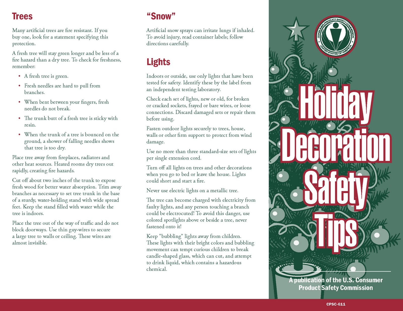 Christmas Decorating Safety | Holliday Decorations