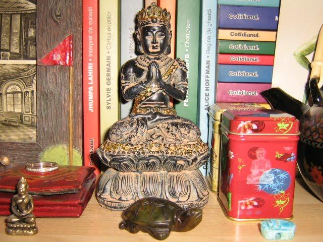 my buddha statue