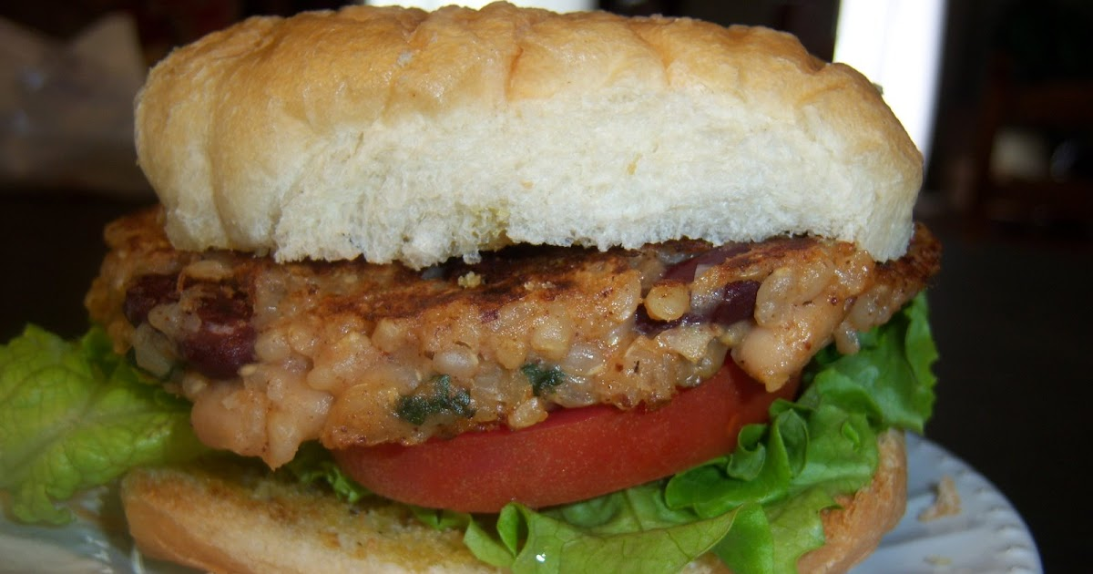 The Quick & The Hungry: Southwest Rice and Bean Burgers