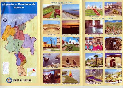 Folleto turístico Provincia de Huaura