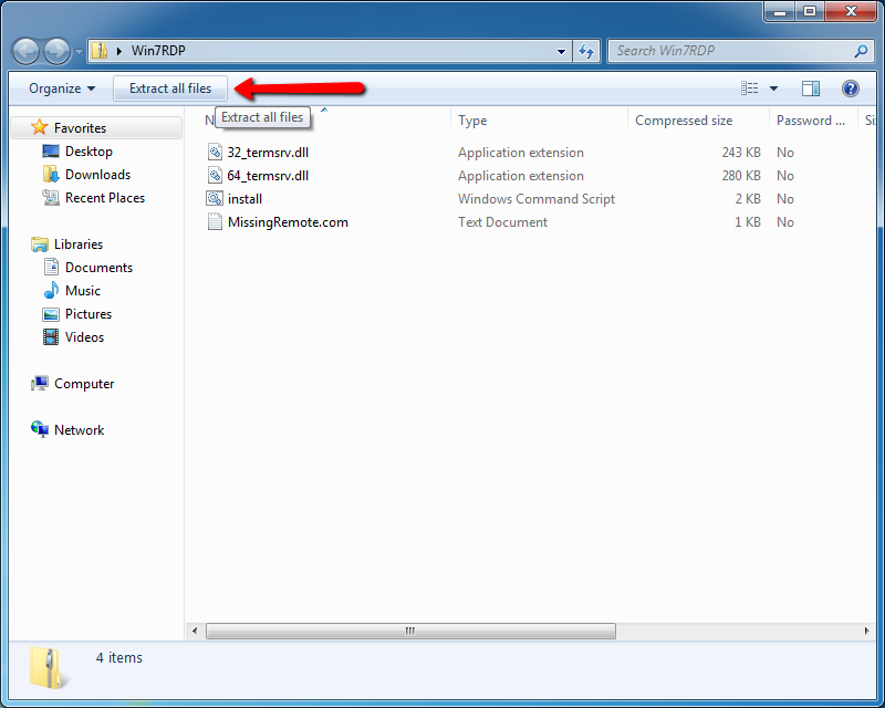 Zip file extractor windows 8 for Window zip file