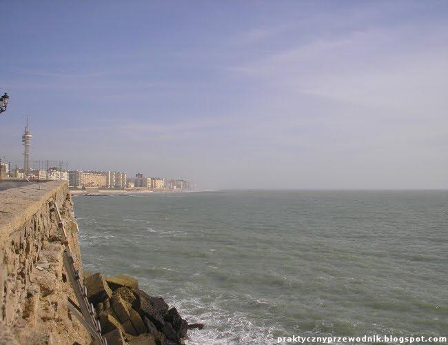 Wybrzeże w Cadiz
