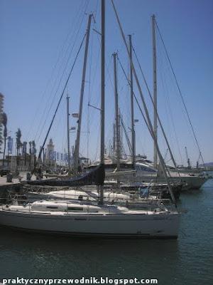 port w hiszpańskiej Maladze