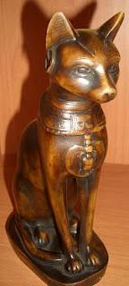 Figurka Kota z Egiptu