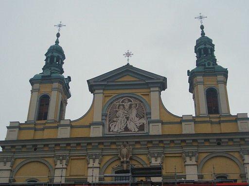 Lublin Bazylika Jana Chrzciciela i Jana Ewangelisty