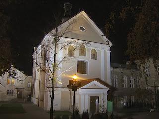 Kościół p.w. Św. Andrzeja Apostoła, Chełm, klasztor Reformatów