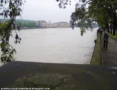 Zdjęcia Wisła powódź 2010 w Krakowie
