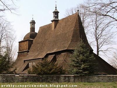 Szlak Architektury Drewnianej Kościół Sękowa