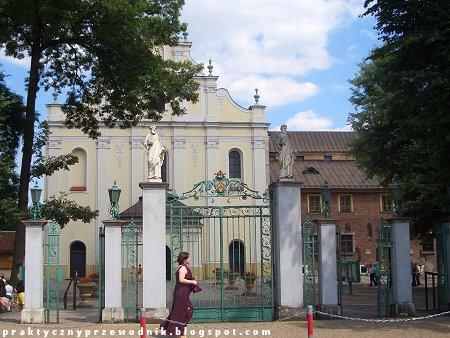 Opactwo Cystersów w Krakowie Mogile Kraków Mogiła