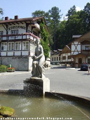 Plac Dietla Szczawnica