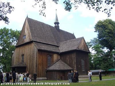 Drewniany kościół świętego Bartłomieja Kraków Mogiła