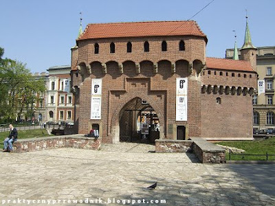 Stare Miasto Kraków Barbakan