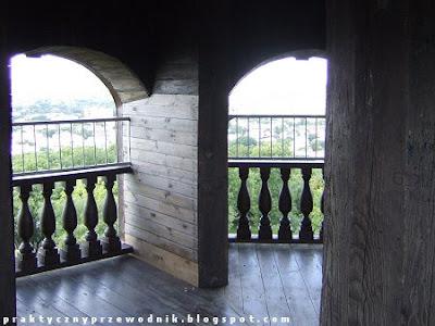 Góra Chełmska taras widokowy na dzwonnicy
