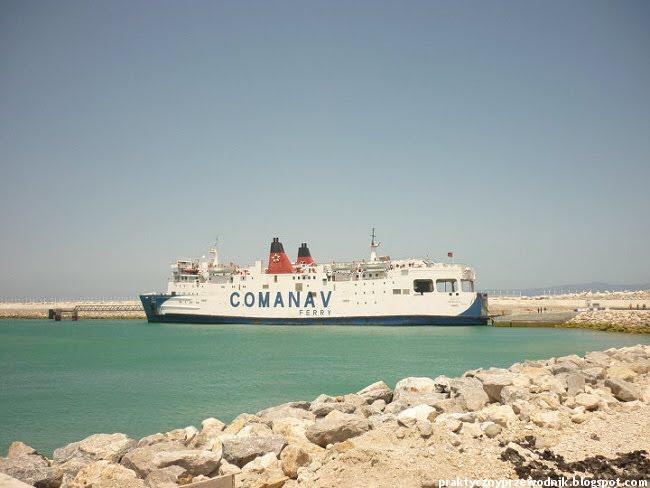 Wybrzeże Maroka Tanger