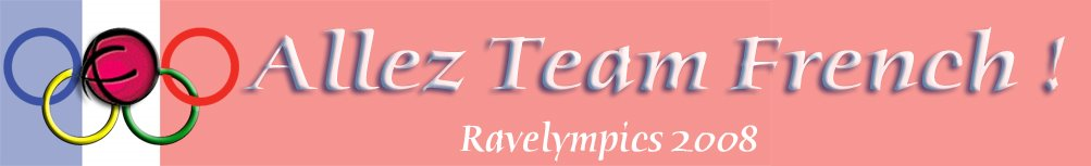 Team French for Ravelympics