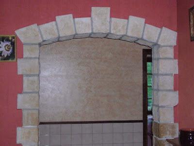 Carrieredarde encadrement mur int rieur for Encadrement porte interieur