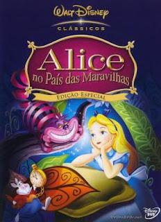 Filme Poster Alice no País das Maravilhas DVDRip x264 Legendado
