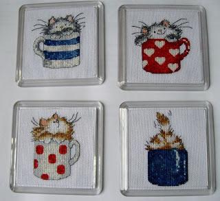 Схема для вышивки крестиком котята в 122