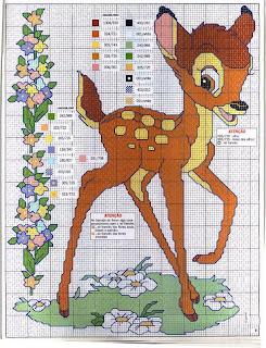 Бесплатные схемы вышивки крестом схема вышивки крестом олененок
