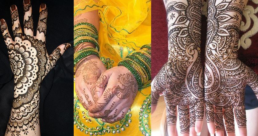 Therefore here are many simple Indian Mehndi designs for hands