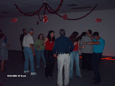 """Group Dancing"" at a Positive Christian Singles Dance Party"