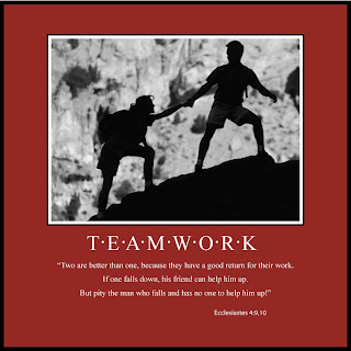 Two are better than one, because they have a good return for their work, if one falls down, his friend can help him up, but pity the man who falls and has no one to help him up! verse background images and Inspirational PPT templates download for free